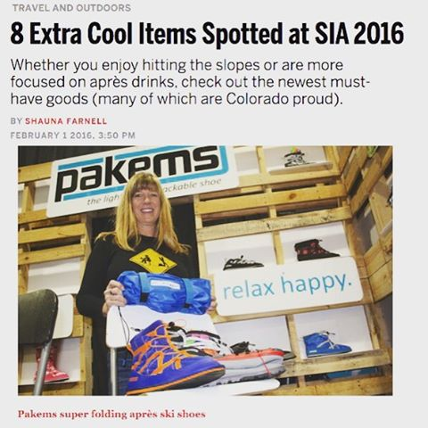 "Thank you 5280 Magazine for having Pakems as ""8 Extra Cool Items Spotted at SIA 2016"". #5280 #coolproducts #thedenvermagazine #sia #siashow #bekind"