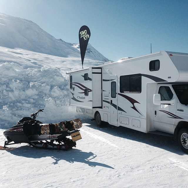 All the necessities covered! Thompson Pass AK #forridersbyriders