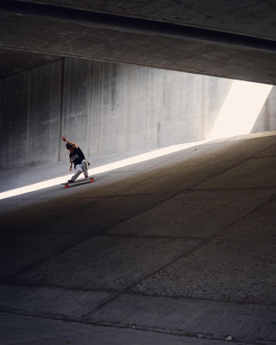 Team rider @laurent_perigault shines in the light.  #paristrucks #paristruckco