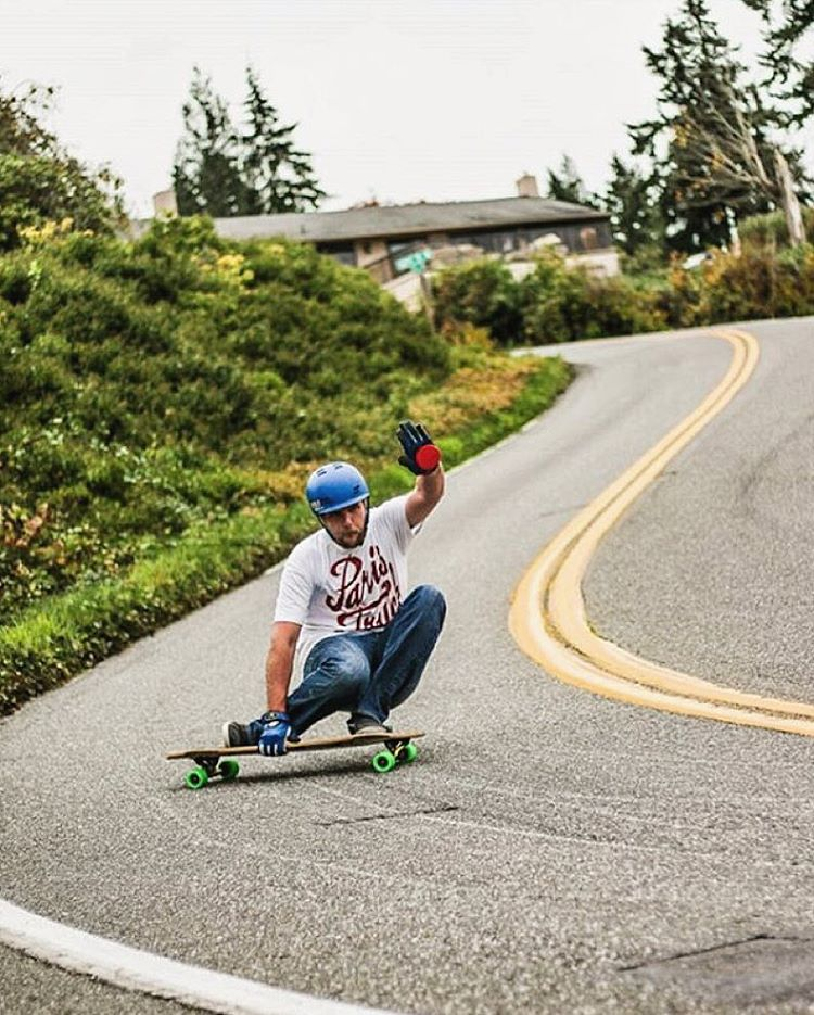 Yippee ki-yay! The fearless @bate_nackburn wrangles a wild one out west, the northwest.  Photo:@samgalus  #paristrucks #paristruckco #savants #nothisfirstrodeo #yeehaw