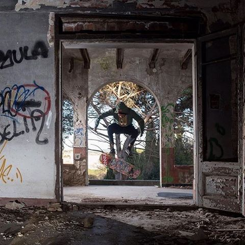 On the hunt for new spots, #paristruckco team rider @agboton pops this heel flip while @willedgecombe snaps the shutter behind the lens.  These two have been exploring uncharted territories. Keep an eye out for more to come from them and @skateslate in...