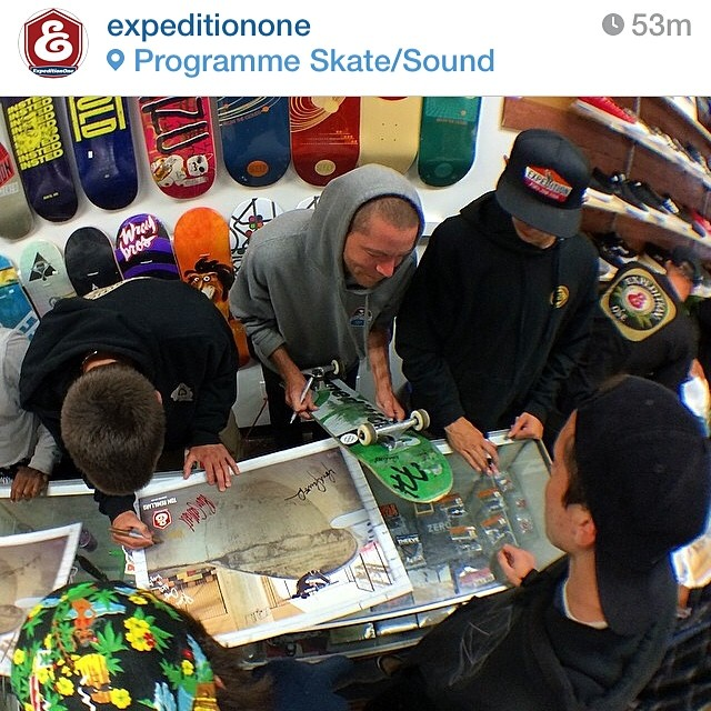 Team rider from Cali @kennyskates spreading the frosty love @expeditionone. #skateboarding #frostyheadwear