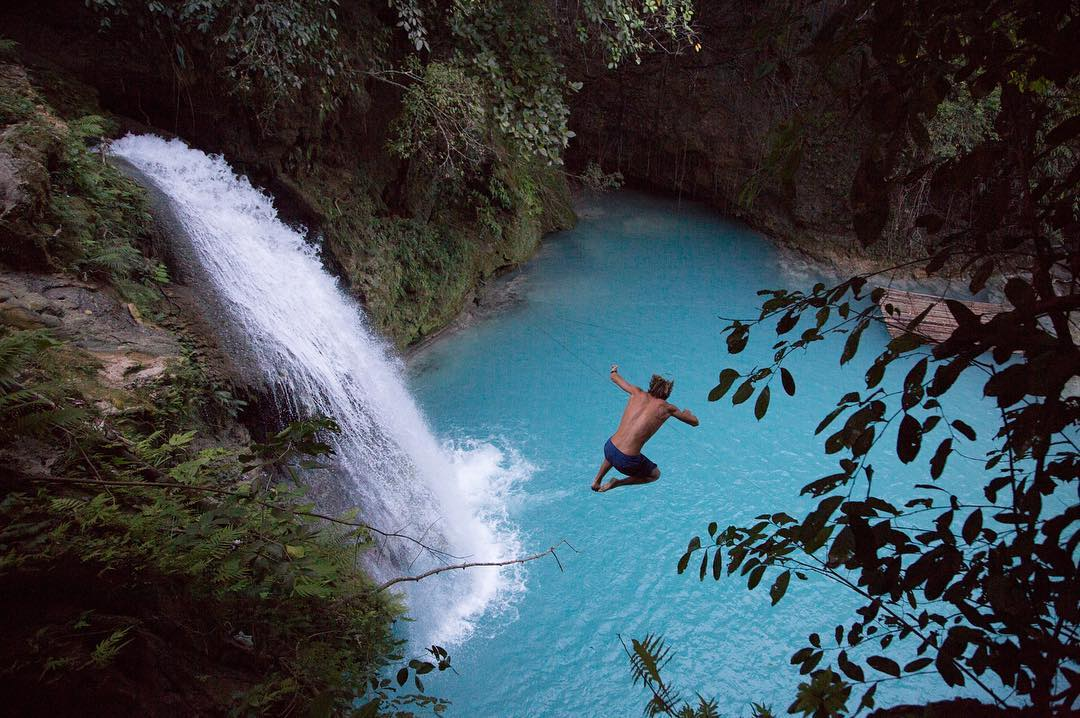 If Kawasan Falls isn't already on your bucket list, pencil it in #ThePhilippinesProject