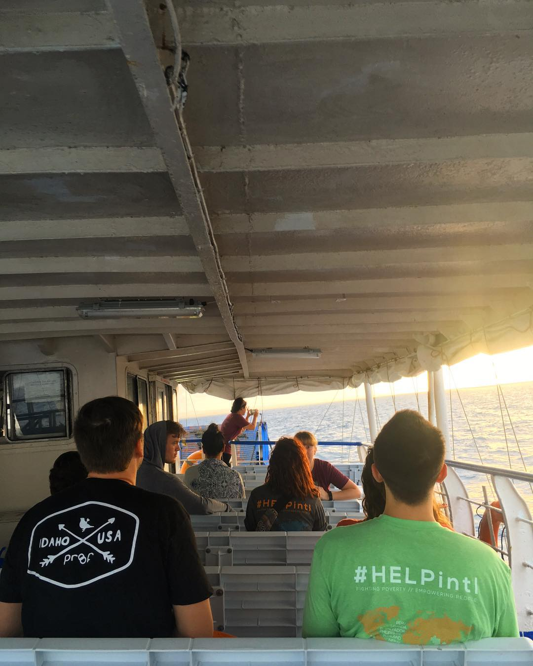 Teamwork makes the dream work. It's 6:40am over here and we're watching the sunrise on our ferry to the next health screening. Over 60 people were scheduled for surgeries yesterday alone - make sure to follow #ThePhilippinesProject by adding us on...