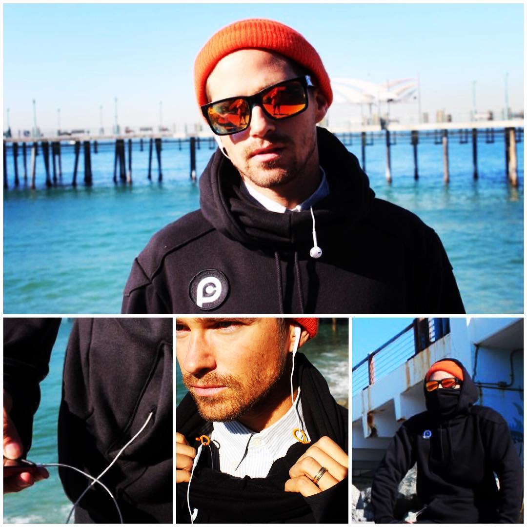 #pushcultureapparel V2 pullover now shipping, built in earbud loops and wire pass thru. #ninjamask #builttolast #hoodie #hoodyseason #hoody #wtwt #sweatshirt #menswear @prestonkonrad #streetstyle