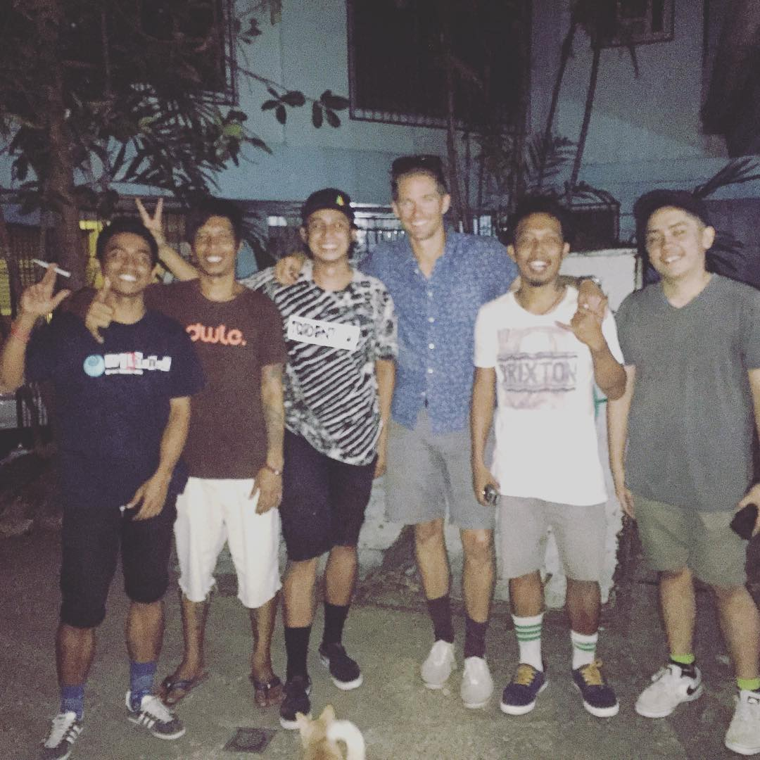 Met a Rad crew of skaters at #driftwood in Cebu Philippines. So stoked