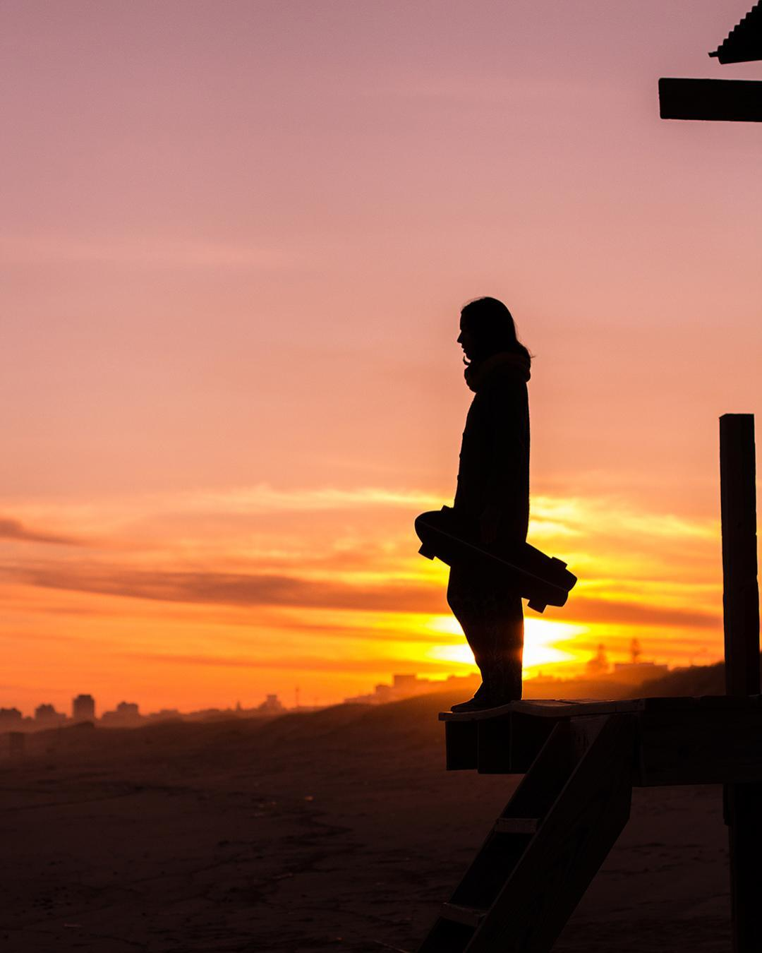 Salí en busca del atardecer perfecto, todos los días una nueva oportunidad!...Live the QA life!