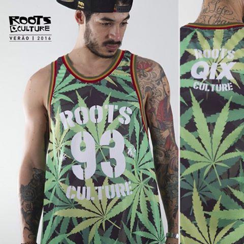Regata QIX Roots Basketball Hemp - Verão 16. Disponível nas lojas de todo o Brasil.