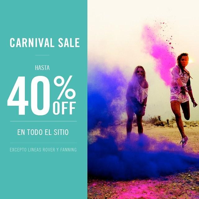 Fin de semana de Carnaval de descuentos en www.reef.com.ar  #REEF #carnival  #lifeisshortgosurfing