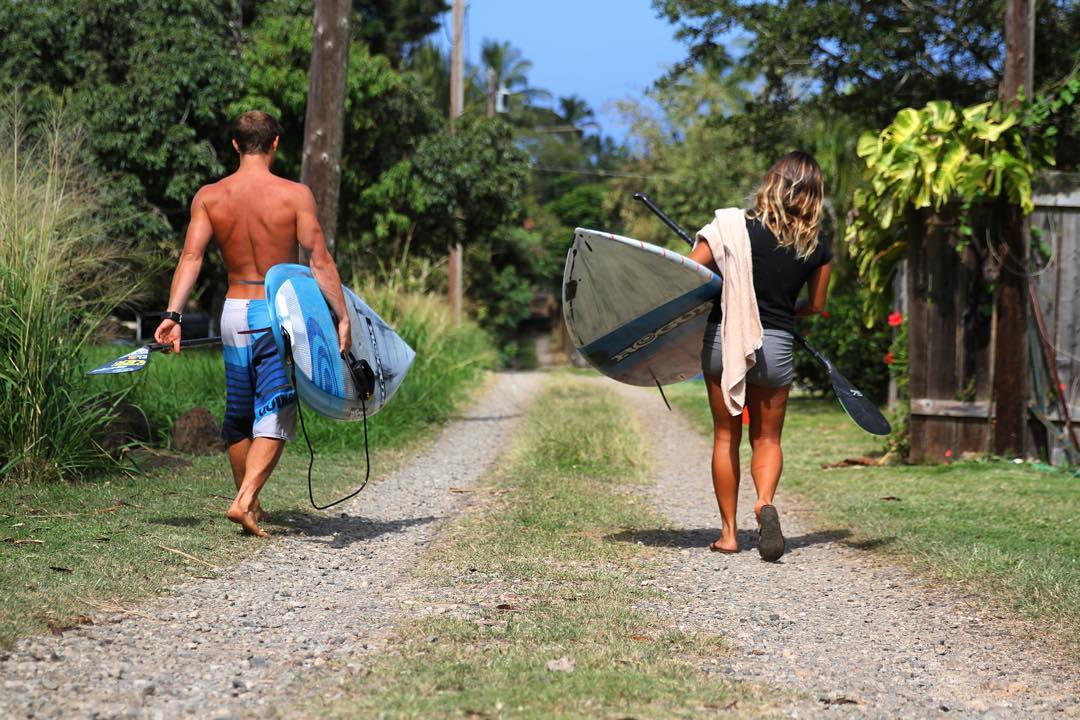Carve your own path. #roguesup #sup #standuppaddle #paddle #hawaii