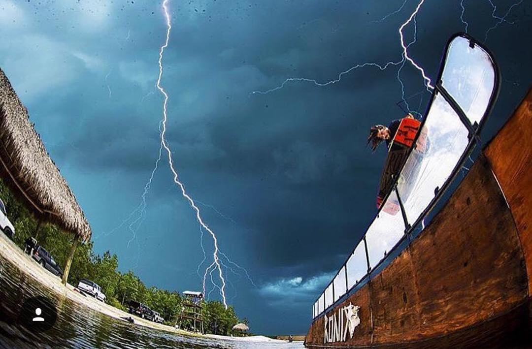 @marcrossiter riding the lightning!⚡️.