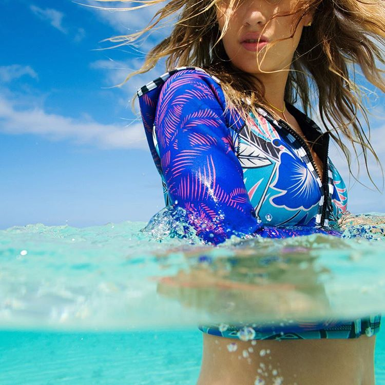 Get set to make a splash in the #POPsurf Polynesia Jacket
