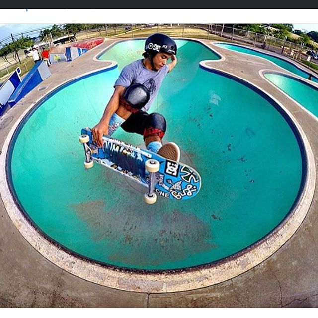 Rad shot of @properrideshop 's @heimana_reynolds in the kapolei bowl
