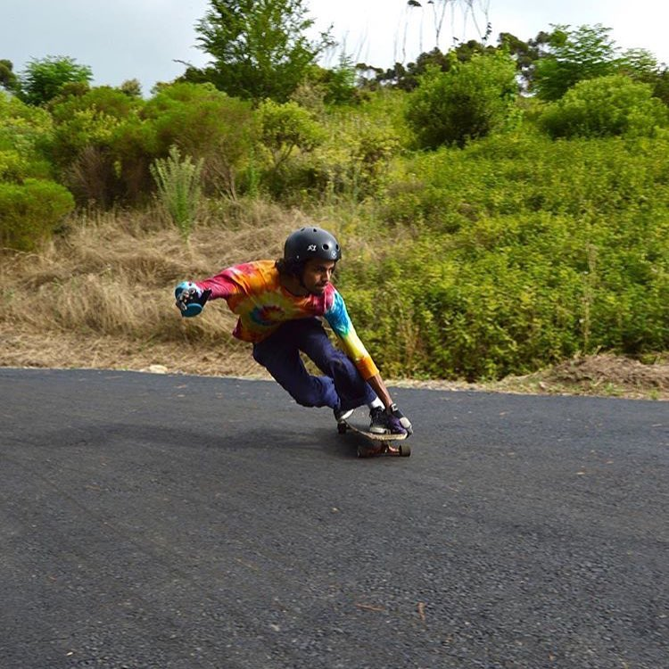 In South Africa @kahlildexjad_zbb skating his local favorite . Kahlil wears the S1 Lifer Helmet. #valhallaskateboards #s1helmets #s1lifer #skatesouthafrica