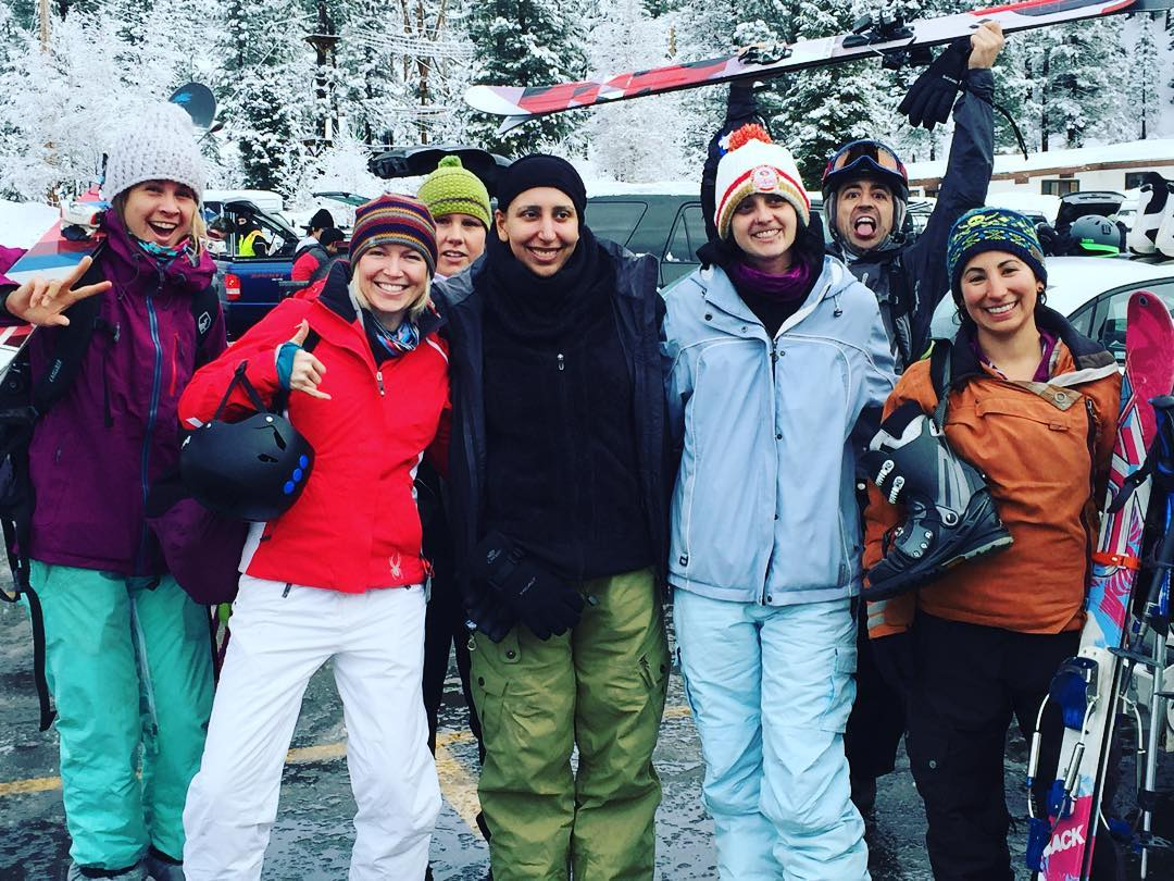 Amazing Tahoe adventure - from first time to snow, to back on tele's post treatments, this crew SENT IT! #sendit #senditfoundation #fightclub #thisishowwefight