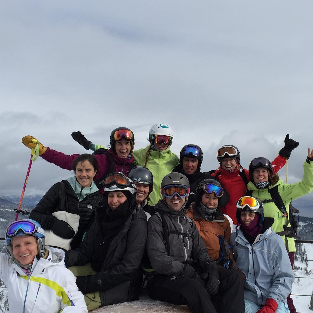 Epic day 1 of the first SEND IT WINTER ADVENTURE!! What an inspiring group of rock stars #sendit #senditfoundation #thisishowwefight #movementisflife