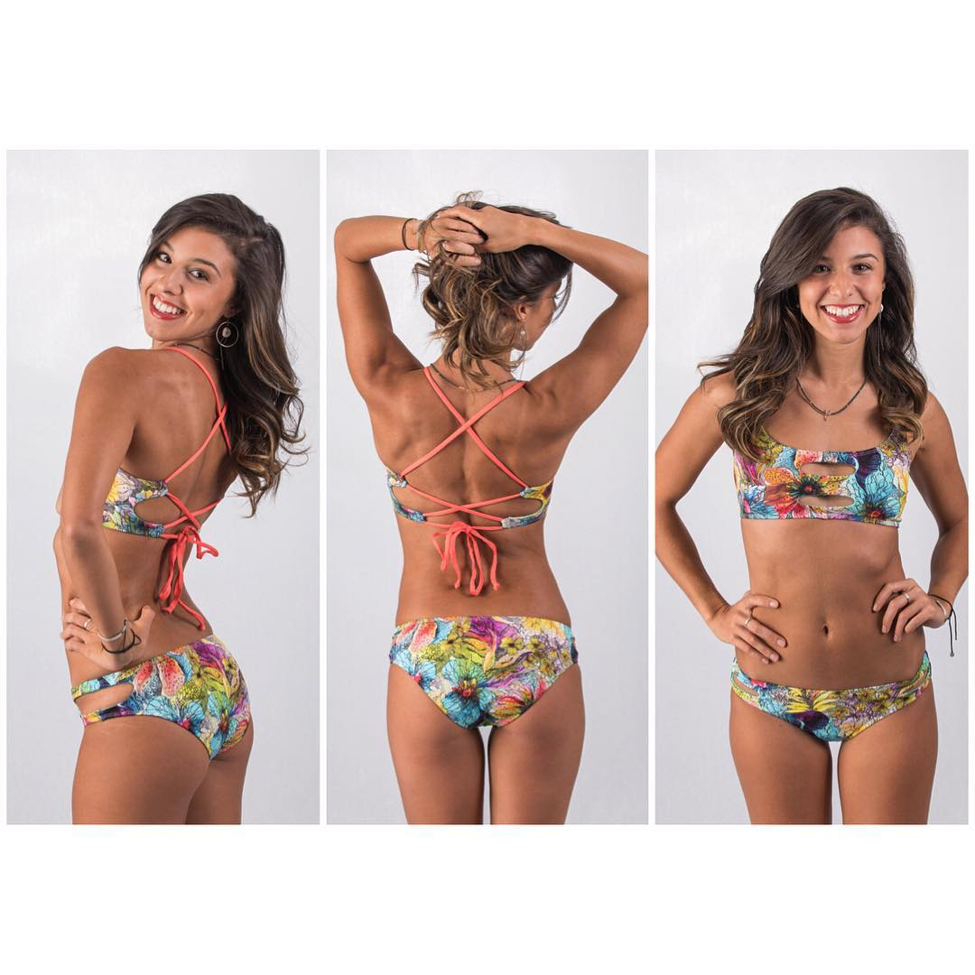 Bold, beautiful and bright. Everyone is loving the wildflower print! @coloswimshop just got a shipment of these babies in! We love our retailers around the country. #shopusa #keepitlocal #sensiclaire #sensiemma
