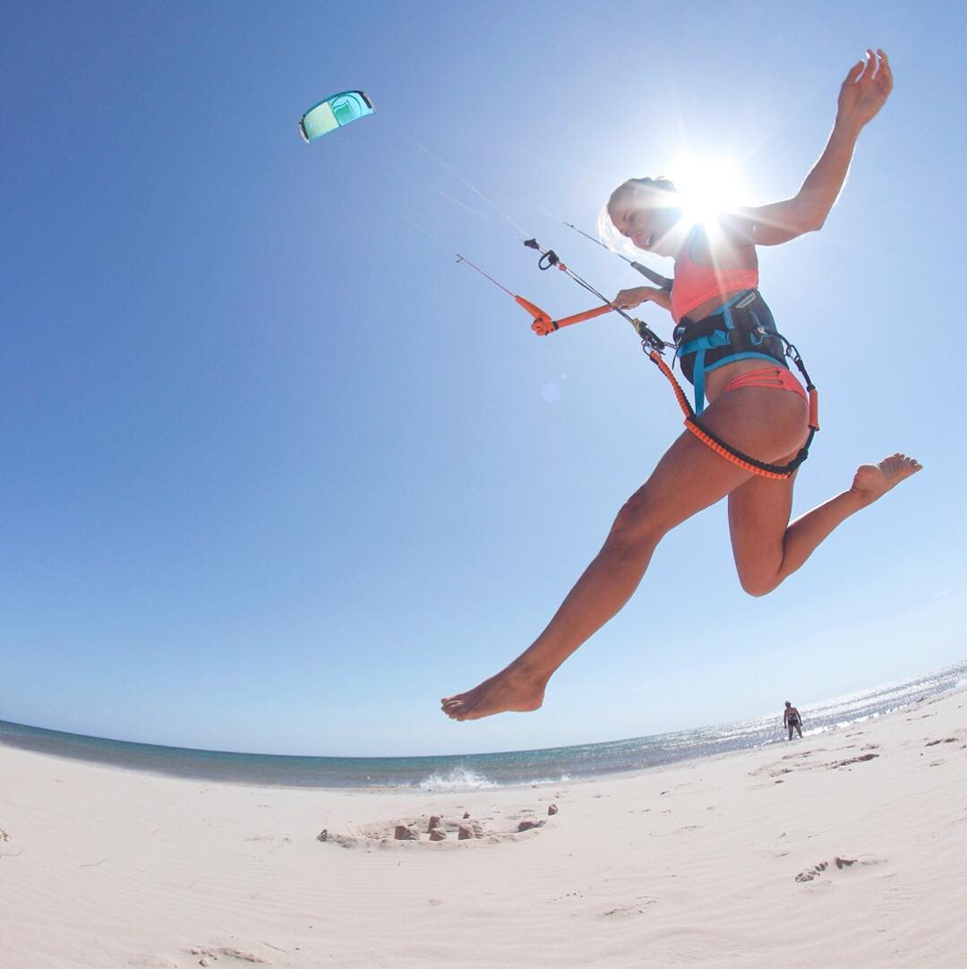 Excited for more of this. We're Baja bound!  #bikinilife #beach #travel #kiteboarding #kitegirls #sensicolleen #sensikyla #jointheadventure