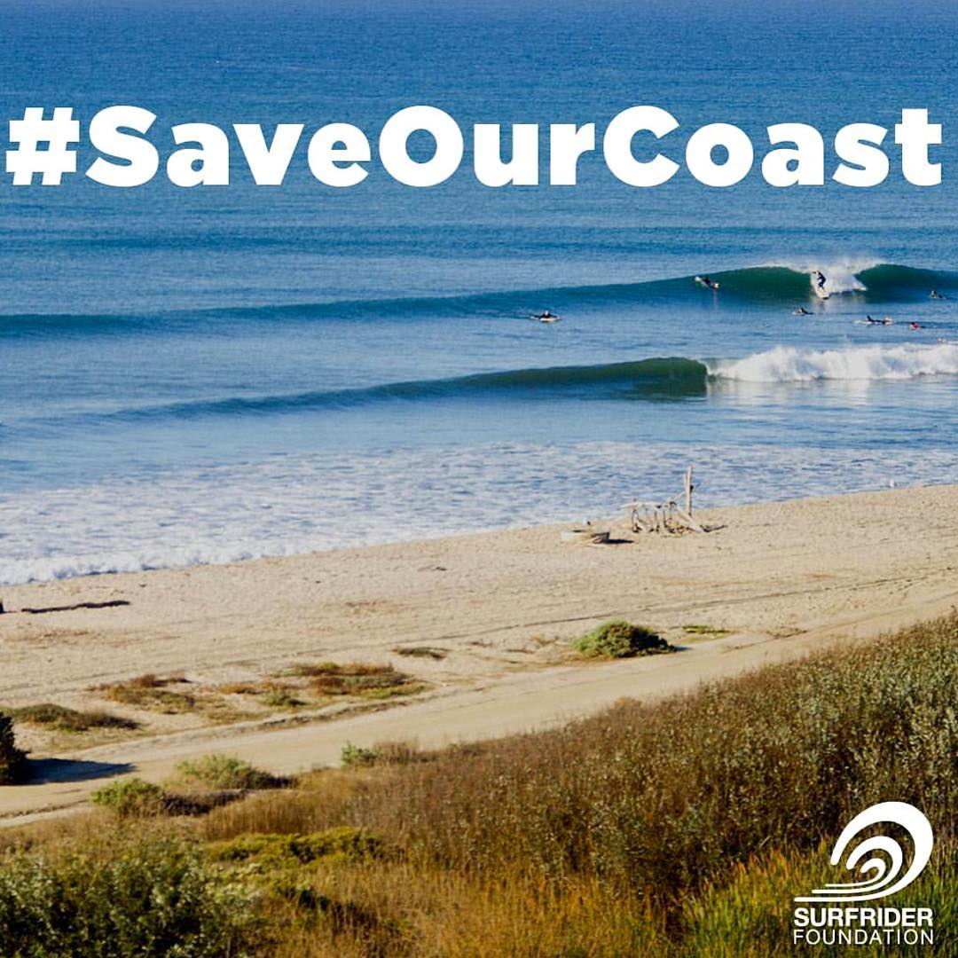 Our California Coastline and Beaches are under attack and we need your help. Please click on @surfrider profile link to help #SaveOurCoast.