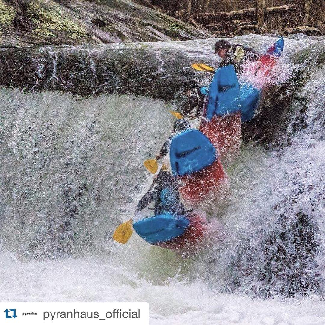 @rowankayaks getting into the #freewheel game on the Tellico River in #NC! #vixen @pyranhaus_official PC:@robgiersch