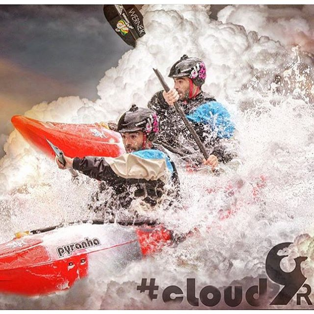 Happy #Sunday!  Think @nyourd is paddling fast to make it back for the #Clemson vs #Alabama game tomorrow night? #cloud9R #demshitz #fullcut #cuzrockshurt