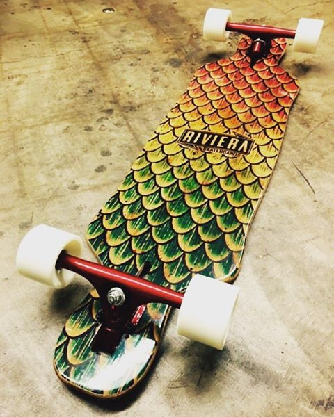 One of my favorite models of Riviera Skateboards (Beta Fish) .........Riviera skateboards now available here at select distribution. #skateriviera #selectdistribution Www.selectsk8.com