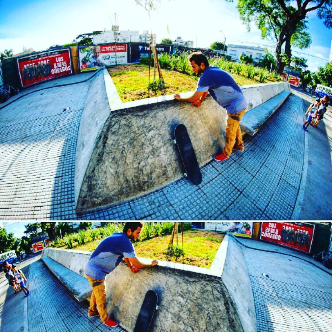 Te lo dejamos envelado para el finde ...! @sebafrancoskate Seguimos filmando el #slp15skateboardingvideo  #slp #slpskateboards #skateboarding #banks #vela #wax #planos  Ph. @agustin.estevanacio