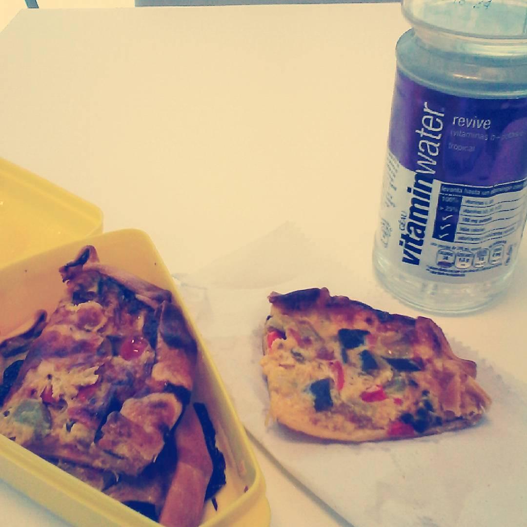 Mi bebu siempre preparandome el #almuerzo
