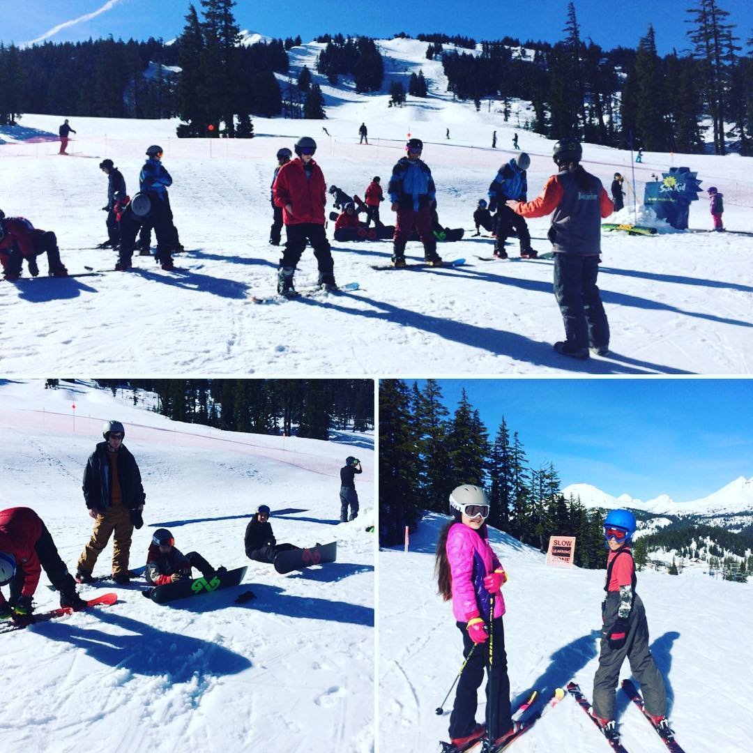 Our #bend #youth programs kicked off this past weekend at @mtbachelor and what a killer blue bird day it was!! Keep spreading the #shred #PNW! ✌