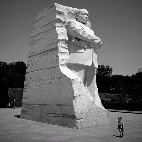 Out Of the Mountain of Despair...a Stone of Hope // MLK memorial Washington, D.C.