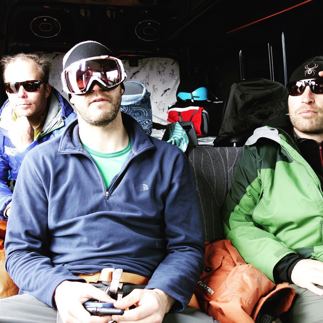 It's carpool day and it's OK to wear your goggles inside. Thanks @protectourwinters @skiutah @altaskiarea and @snowbird for the inspiration to pick up a few stragglers // #plantyoursoul