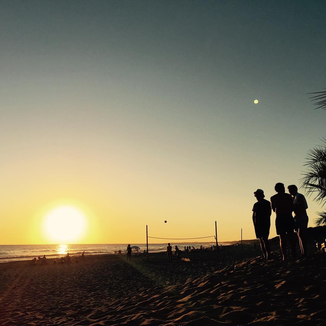 Terminado el día  #photo #sunset #surfing #hangout