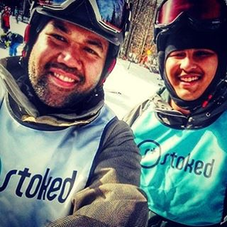 A day of firsts filled w stoked smiles. Regram from @dcmac03