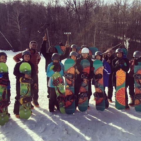 Repost from @tre.tvnation of a great day of shredding with @stoked_nyc!