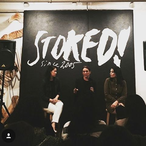Thanks to @elizabethstilwell for this shot from last night's @worncreative event held at @stokedspace. It was a great turnout for incredible speakers from @broadly @citizensmark @thesecond_shift.