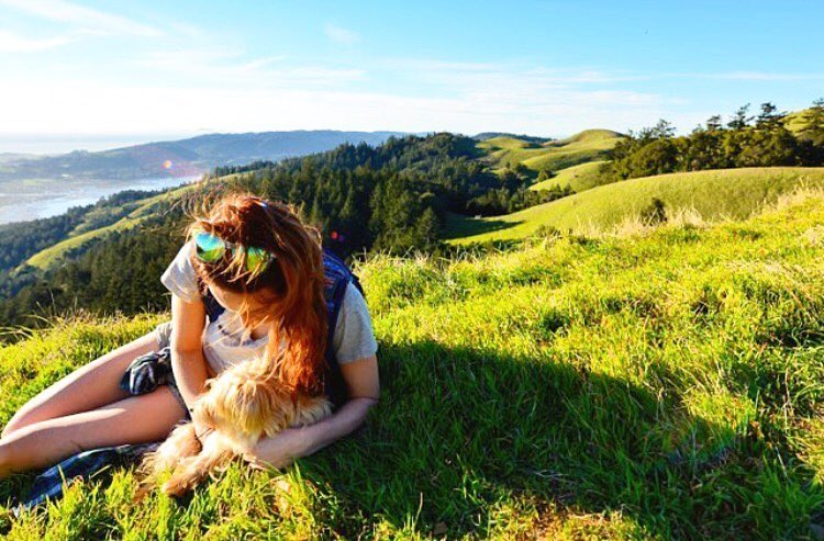 """Home is wherever I can adventure freely with my favorite adventure partners."" - @lexjaye #LiveLifeOutside PC: @jmarstiller"
