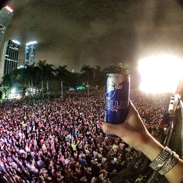 Can't beat the view from #RBflightdeck. @ultra's going off, but the night's still young... #RBguesthouse after party?