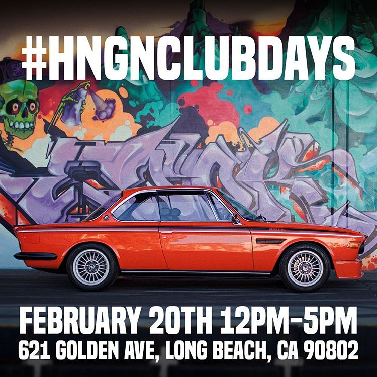 HNGNclubdays: Supporting the automotive culture by offering up the #donutgarage for events and hang outs, 'cause that's what brought us together. This time our buddy, @coupeking, is bringing down a bunch of super rad, ultra rare, classic BMWs. Who's...