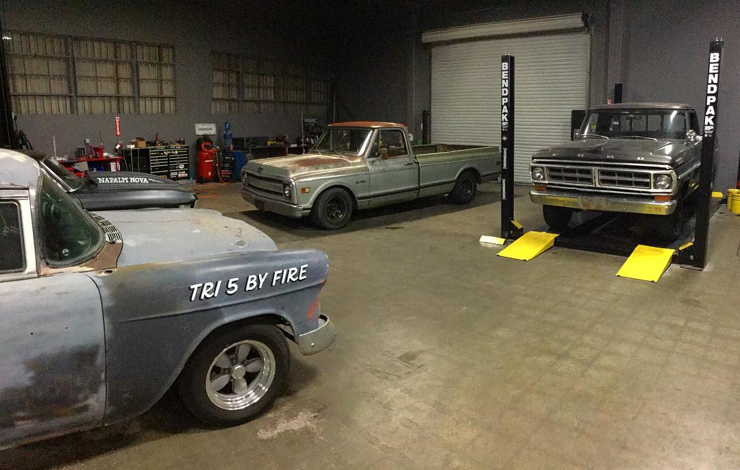 Since its way too early for us to start actually prepping for Power Tour, we figured its more fitting for us to just tack on a couple more projects before hitting the road. Introducing @baker_ashley's '71 F100 short bed 4x4 and @vin_tra's '69 C-10 long...