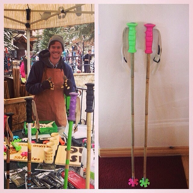 Thanks @juleskulz for coming to the #Vendettas #SoulShop to build  Watermelon Bubblegum #soulpoles. @shejumps you gals need to hook up with this #babesquad and have a day of #girafficorns and #watermelonbubblegum at @vailmtn.  #highaltitudehappiness...