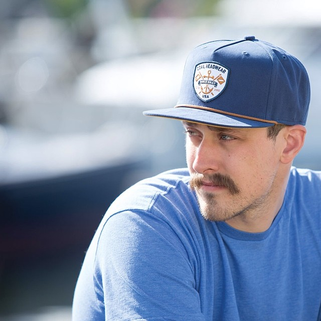 Bring on the sun | Cap: The Ebb Tide from #ss14, now available at coalheadwear.com |