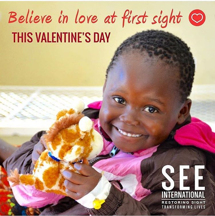 Believe in #love at first sight this #valentines day #givesight #seeintl #waveborn #vision