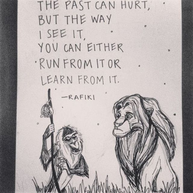 See what you can learn from the past #rafiki #wisdom #lionking #timetravel #waveborn