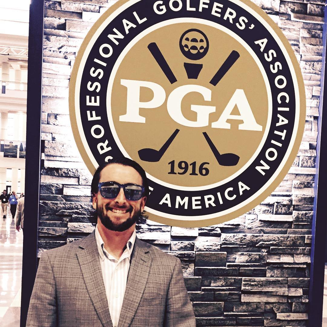 First time at the #pga #golf #trade #show to sell #waveborn #sunglasses to golf country clubs in #florida #texas #california @pgagolfshows @pgatour