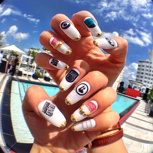 Nailed it. Thanks, @nail_swag @britneytokyo @tokyoswag. #RBguesthouse