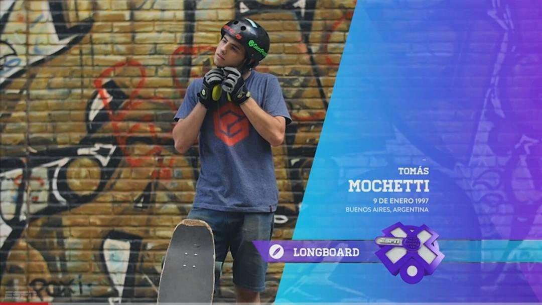 Tomas Mochetti, representando como siempre de la mejor manera, no te pierdas su nota completa en ESPN X, la señal de deportes extremos mas grande de todo Latinoamerica. LINK: http://bit.ly/1lyZVlo  #TeamWika #andarxandar #WikaSport #Longboarding...