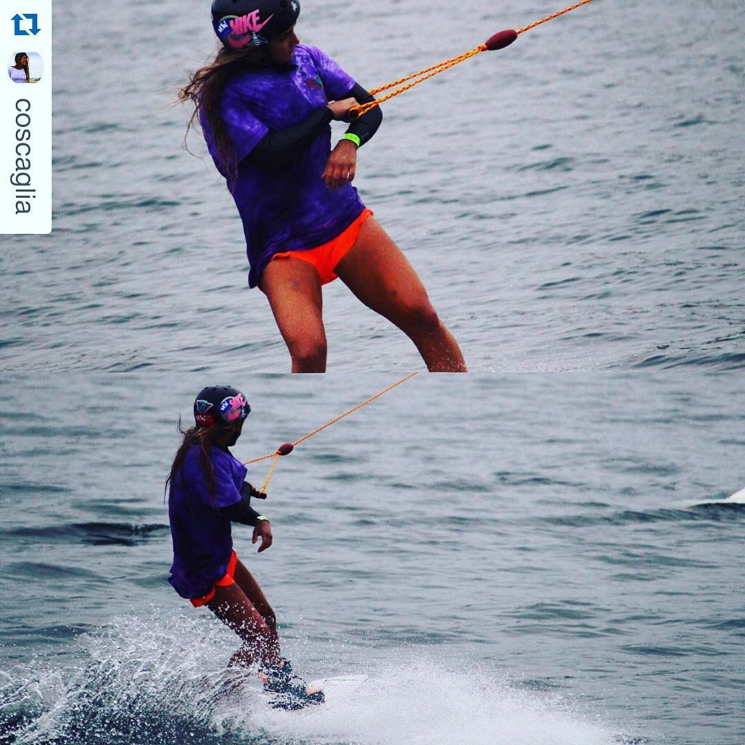 @coscaglia rideando fuerte!  #batic #remeraWOW #wake #WaterLover #wildonwater #allornothing