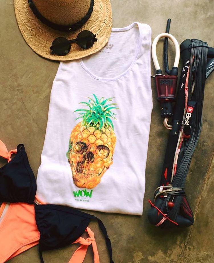 ::Summer Essentials:: #musculosaWOW #chicas #kitesurf #wildonwater #verano