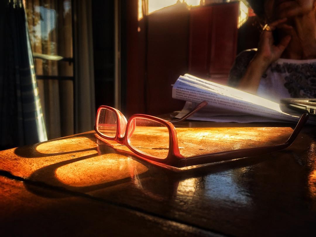 Norita y sus gafas al sol