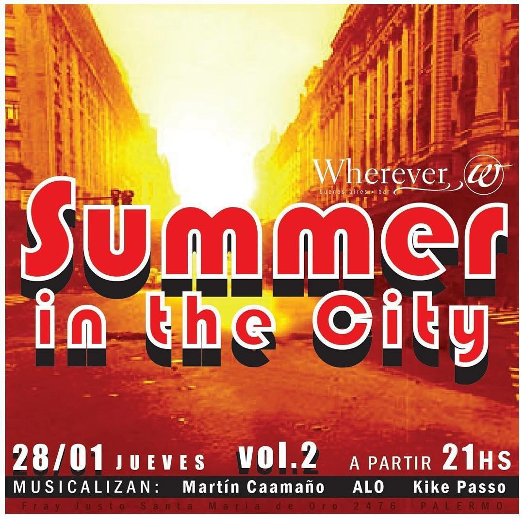 Mañana estoy en @whereverpalermo  musicalizando con unos amigos ! Pásense a tomar unas frescas tiradas a 30pesos! #rock #wherever #madferit #summer #city #buenosaires